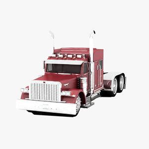3d patrol truck peter bilt
