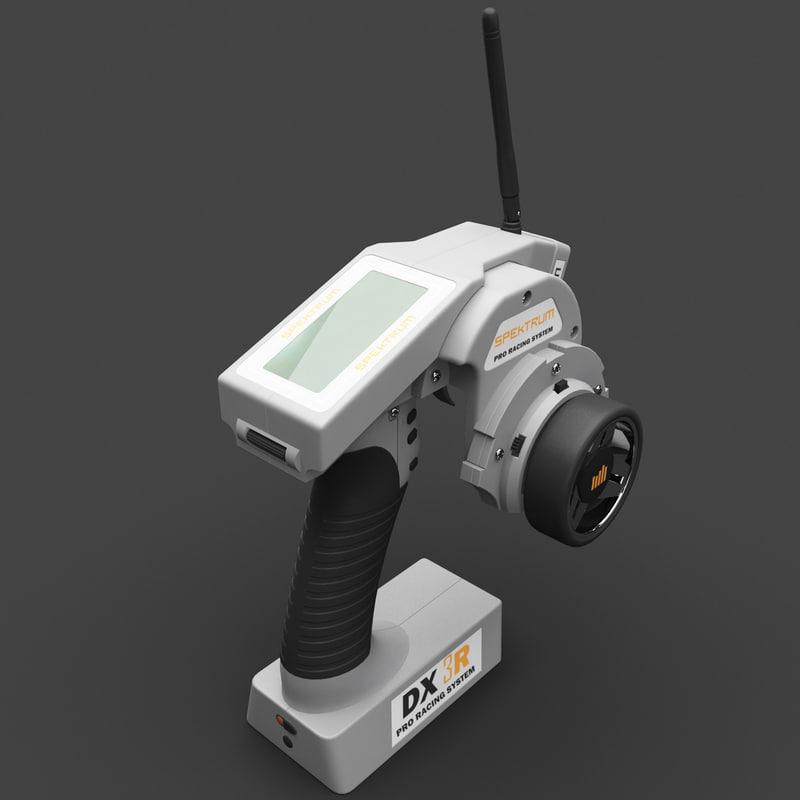 3d radio control transmitter spektrum