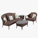 Dedon Tango Oudoor Furniture Set