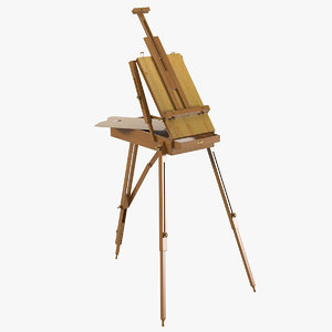 3ds professional easel