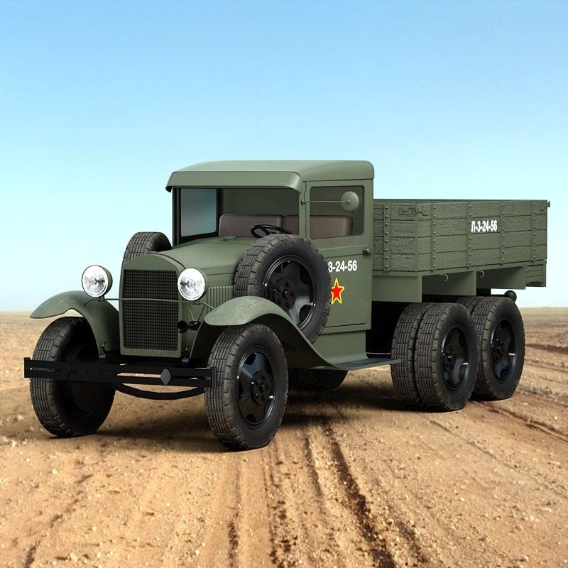 3ds max gaz aaa truck