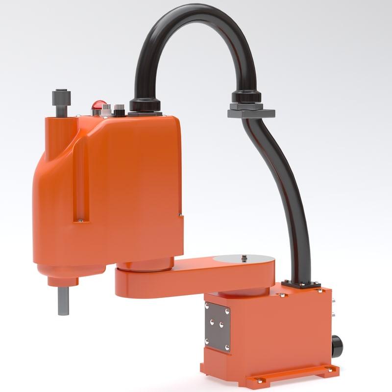 3d industrial robot scara