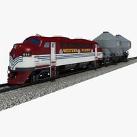 train cargo 3ds