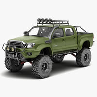 lightwave toyota tacoma 2012 race car