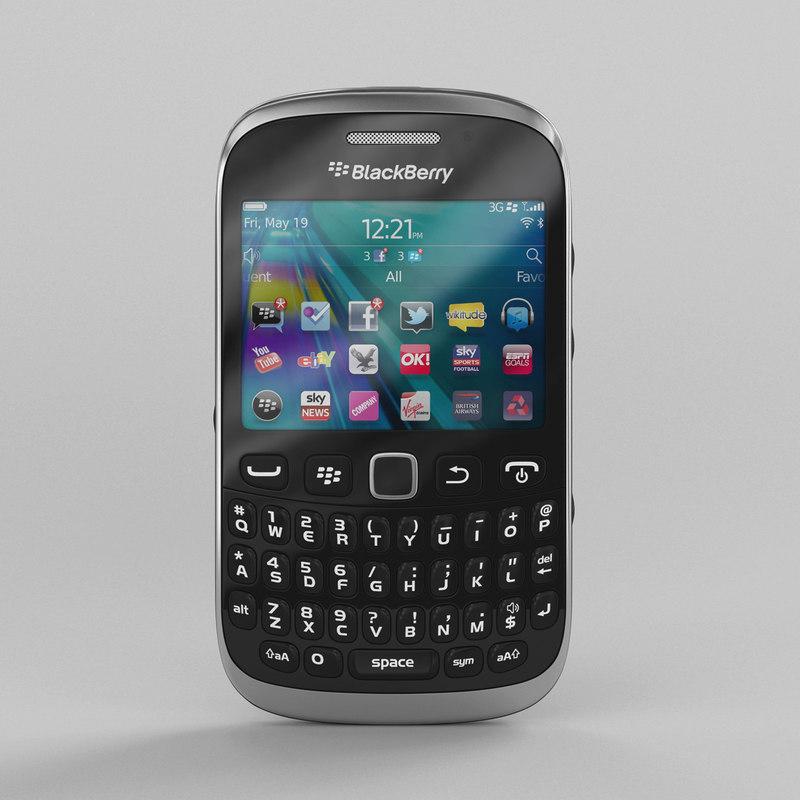 blackberry curve 9320 3ds