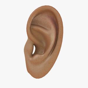 max realistic human ear