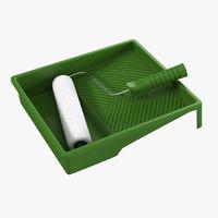 3d model roller kit