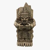 Aztec Statue 2