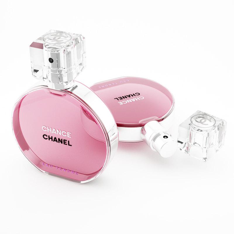 parfume chanel chance eau 3d max