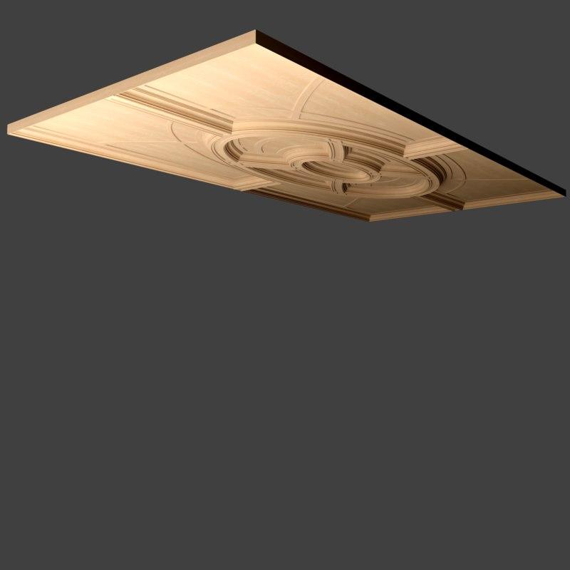 3dsmax beam ceiling