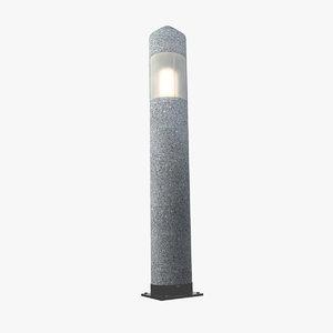 3d royal northpole granite light model