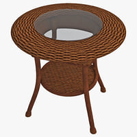 outdoor rattan table 2
