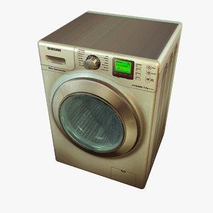 c4d washing machine 2