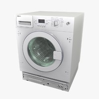 washing machine 3 3d model