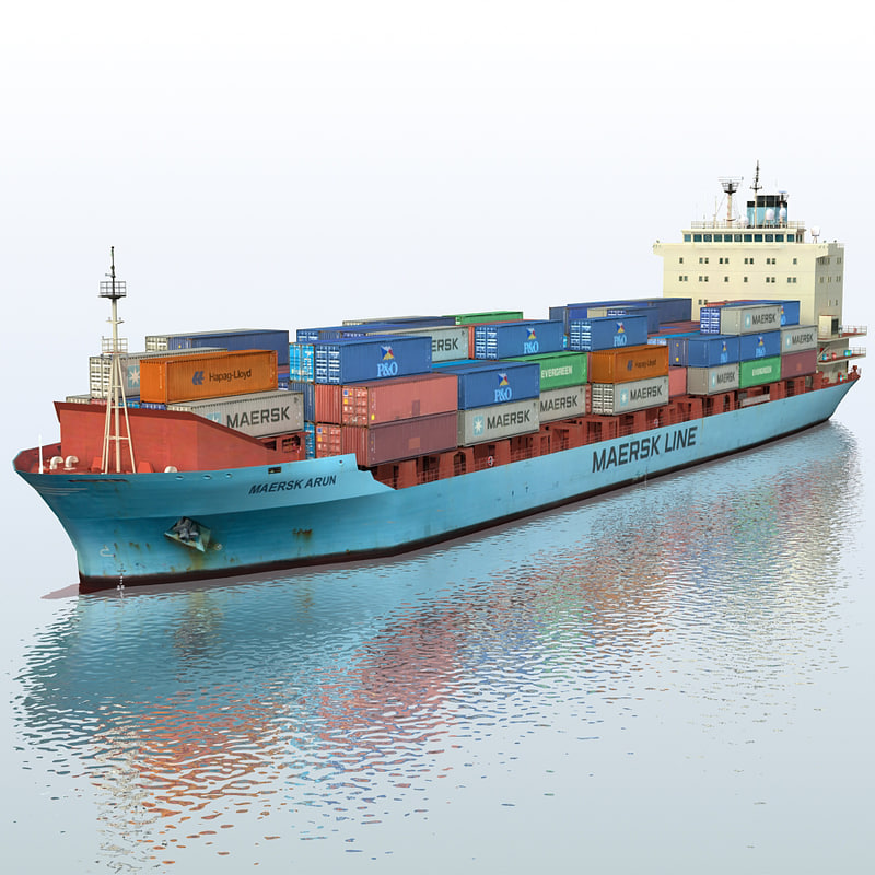 max container ship maersk arun