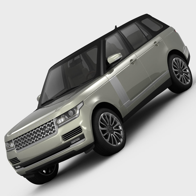 land rover range vogue 3d max