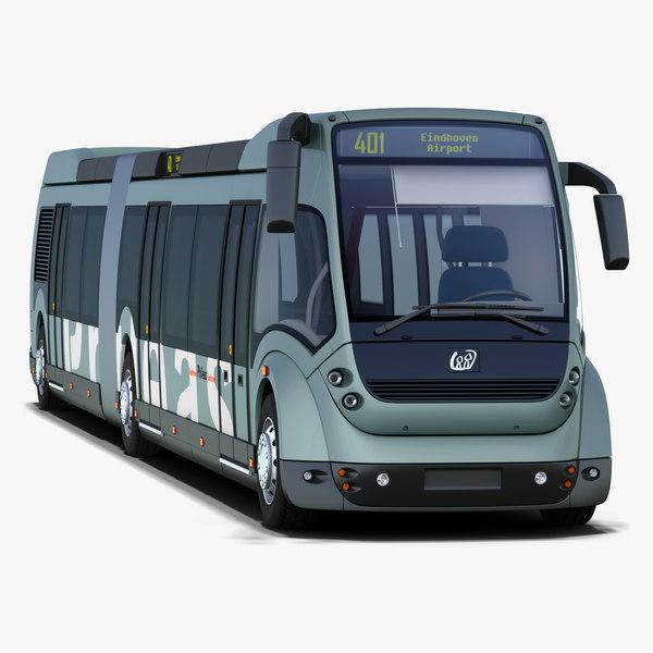 3d apts phileas bus