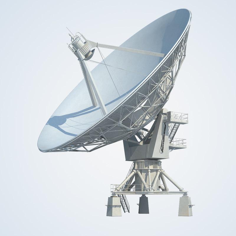 3ds max kinnerly radio telescope knockin
