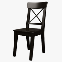 Ingolf Chair Brown Black