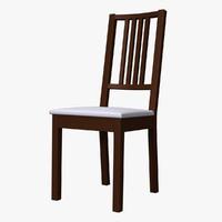 3d börje chair model