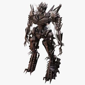robot evil - 3ds