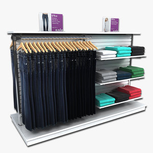 3d model clothing women jeans