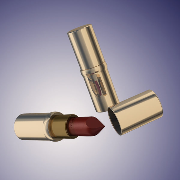 3ds max l oreal rouge