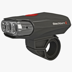 3d model bicycle flashlight blackburn