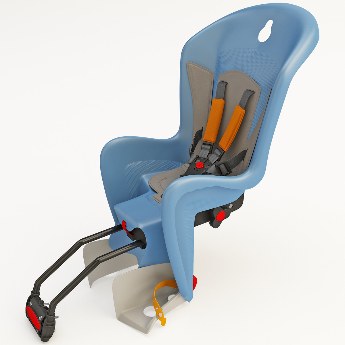 bike child seat polisport 3d c4d