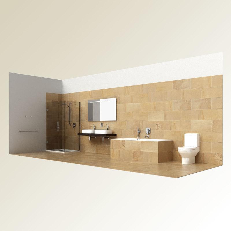 max modern bathroom set bath
