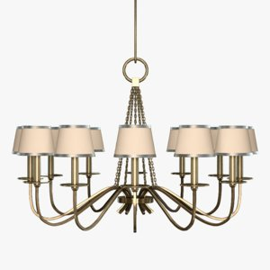 3d model fine art lamps