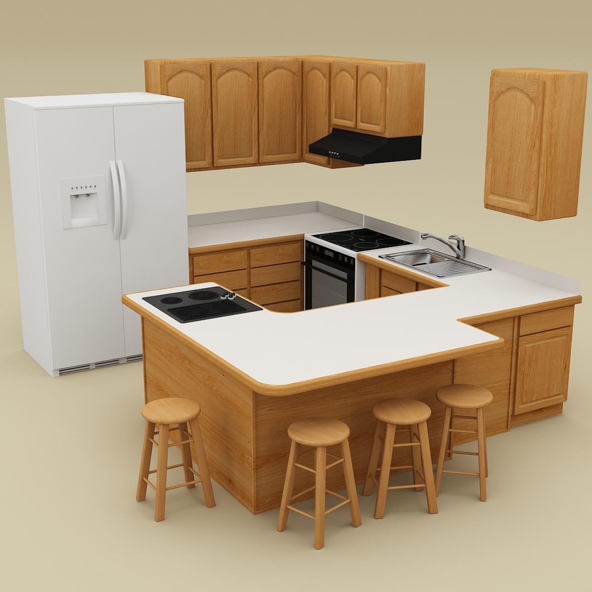 kitchen 20 3ds