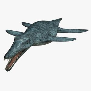 3ds max liopleurodon