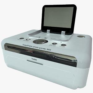 printer easyshare kodak 500 3ds