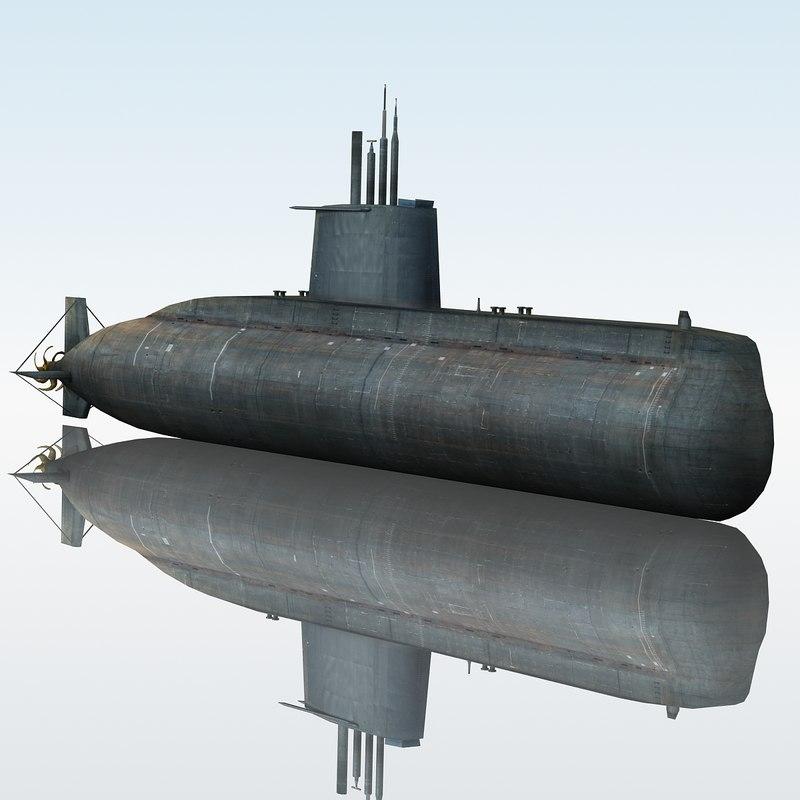3d type 209 submarine class