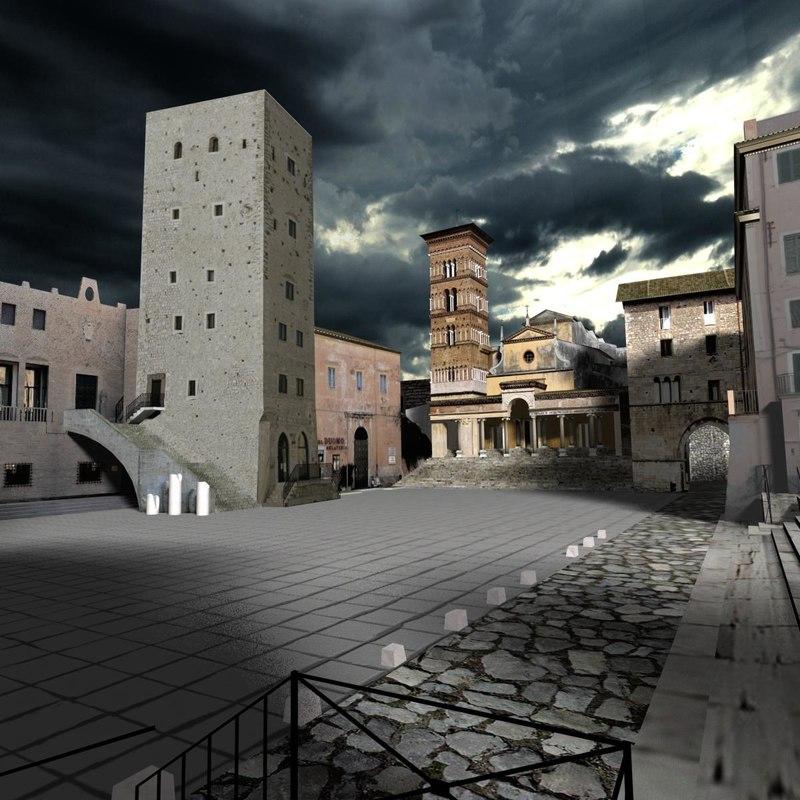 scene terracina forum 3d max