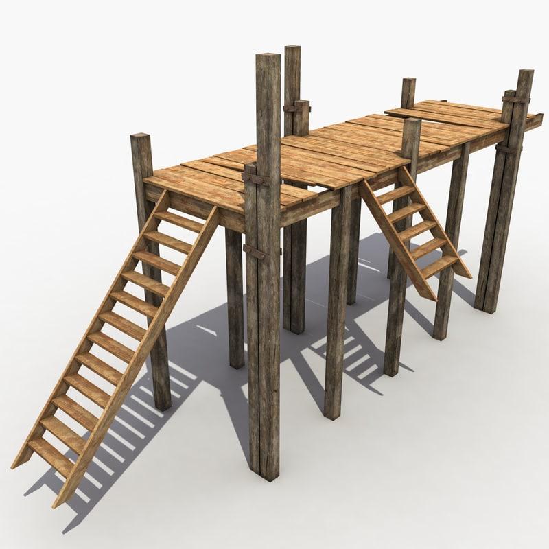 pier modeled 3d model