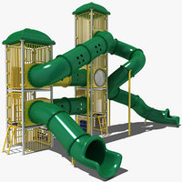 playground play ground 3d model