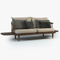 Fly Lounge Sofa with Side Tables