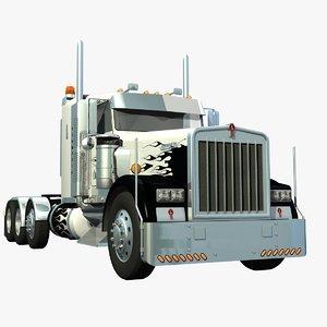 lwo w900 truck long frame