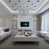 European Style Living Room