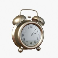 alarm clock analog 3d 3ds