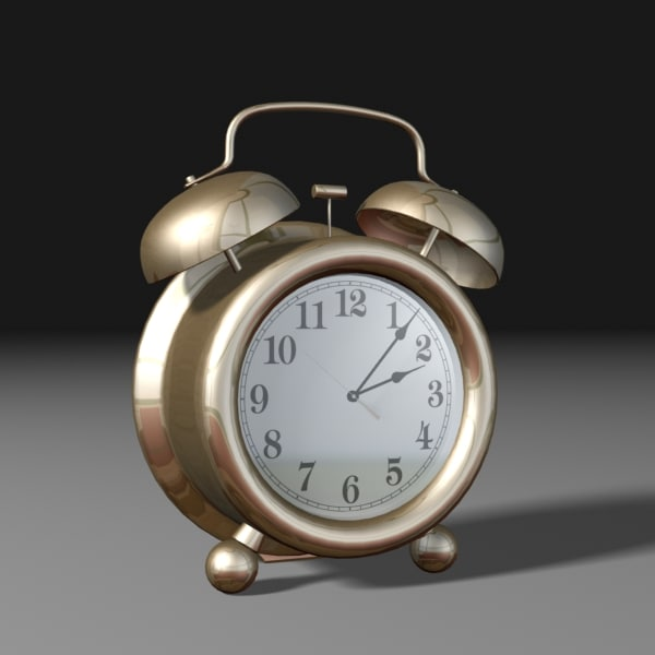 alarm clock analog 3d 3ds