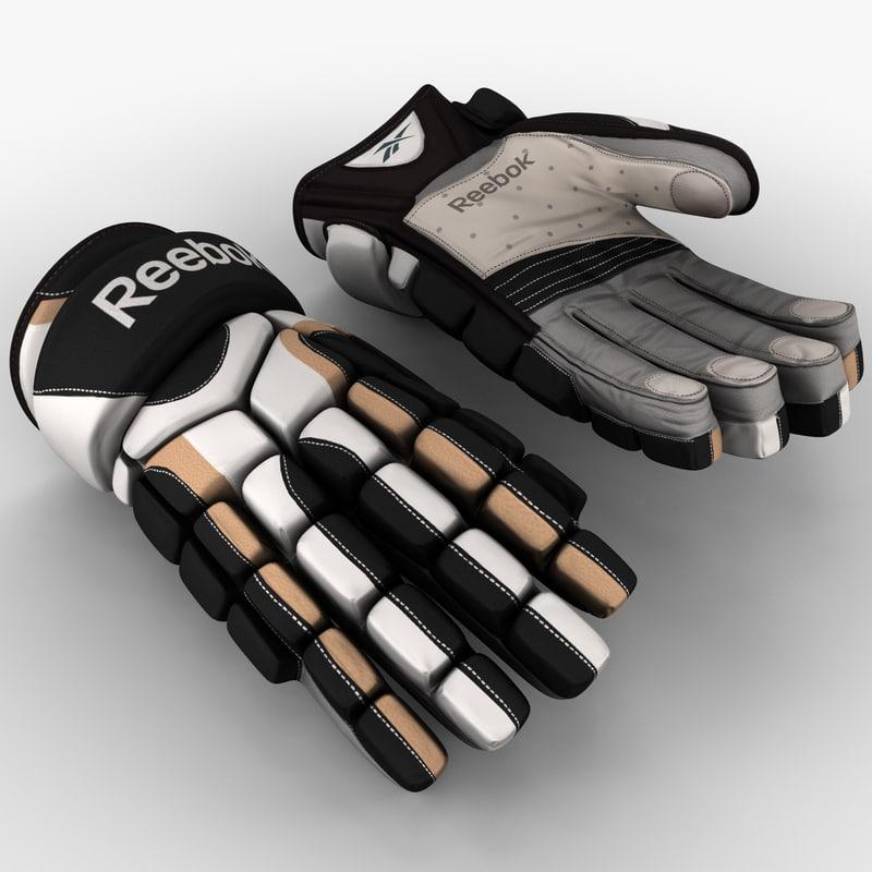 3dsmax hockey gloves