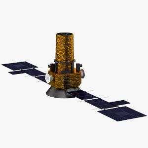 air force research satellite 3d max