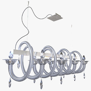 chandelier demajo 8080 3d max