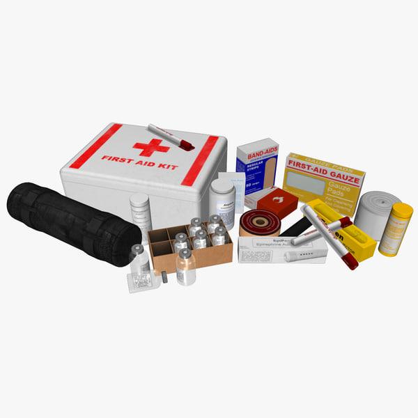 aid kit s obj