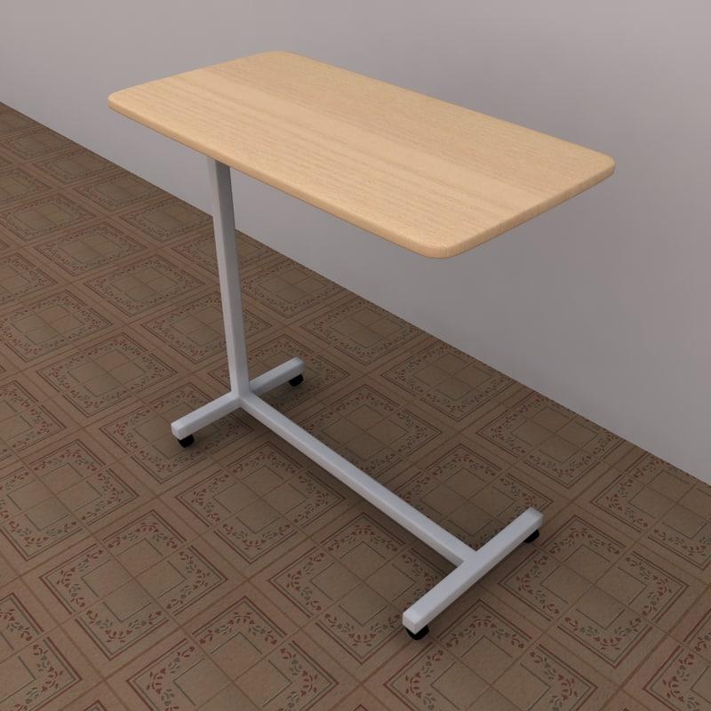max hospital table