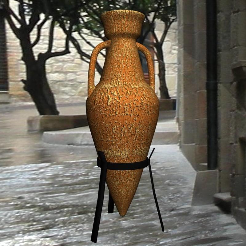 3d amphora