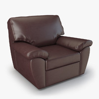 armchair senator chair furniture 3d max